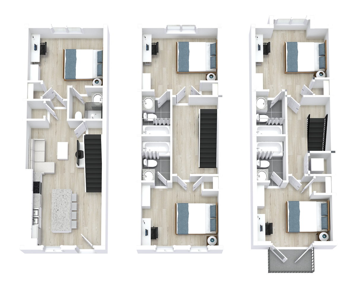 Top view Apartment